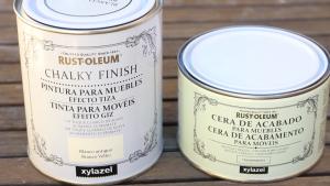 Pintar mueble con pintura de tiza o chalk paint pepa tabero - Pintura acrilica para muebles ...